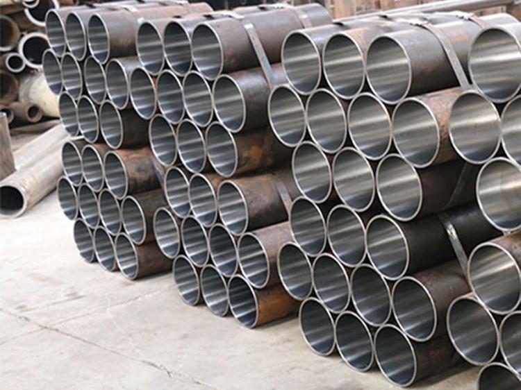 厂家销售 45#滚压钢管 冷拔珩磨管 精密冷拔钢管厂 现货