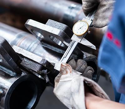 行走机械油缸管